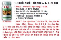 Thuốc Nghệ - Cô Vân