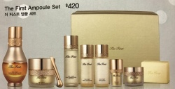 The First Ampoule Set